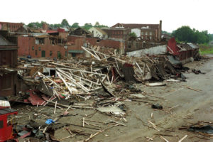 1993, Peterburg Tornado