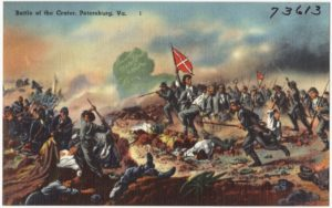 1864, The Battle of the Crater